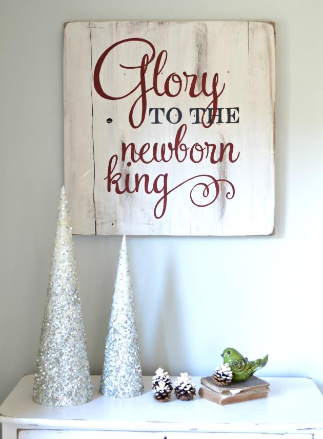 sign glory to the newborn king1
