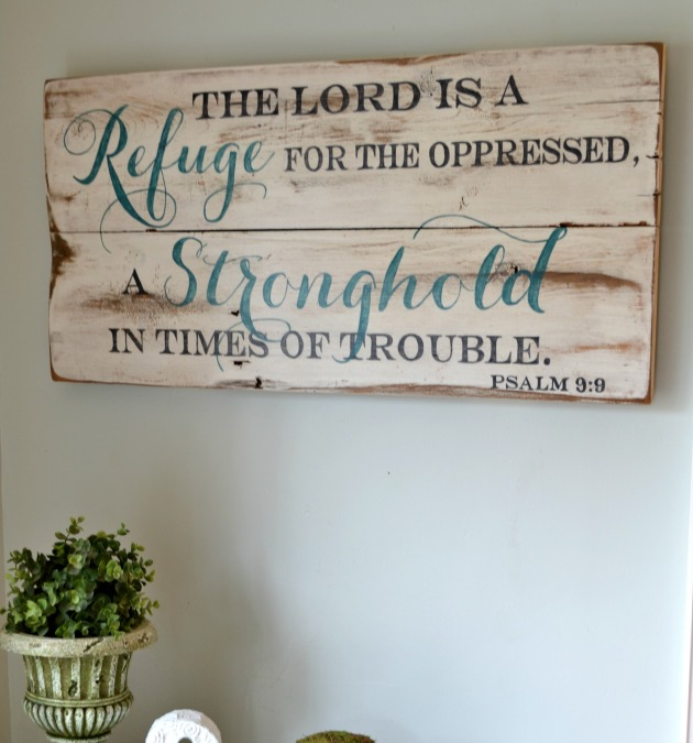 sign the lord is a refuge2