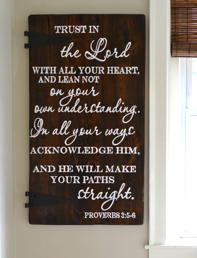 sign Trust in the lord1