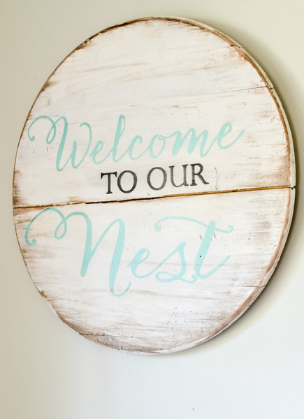 sign_welcome_to_our_nest