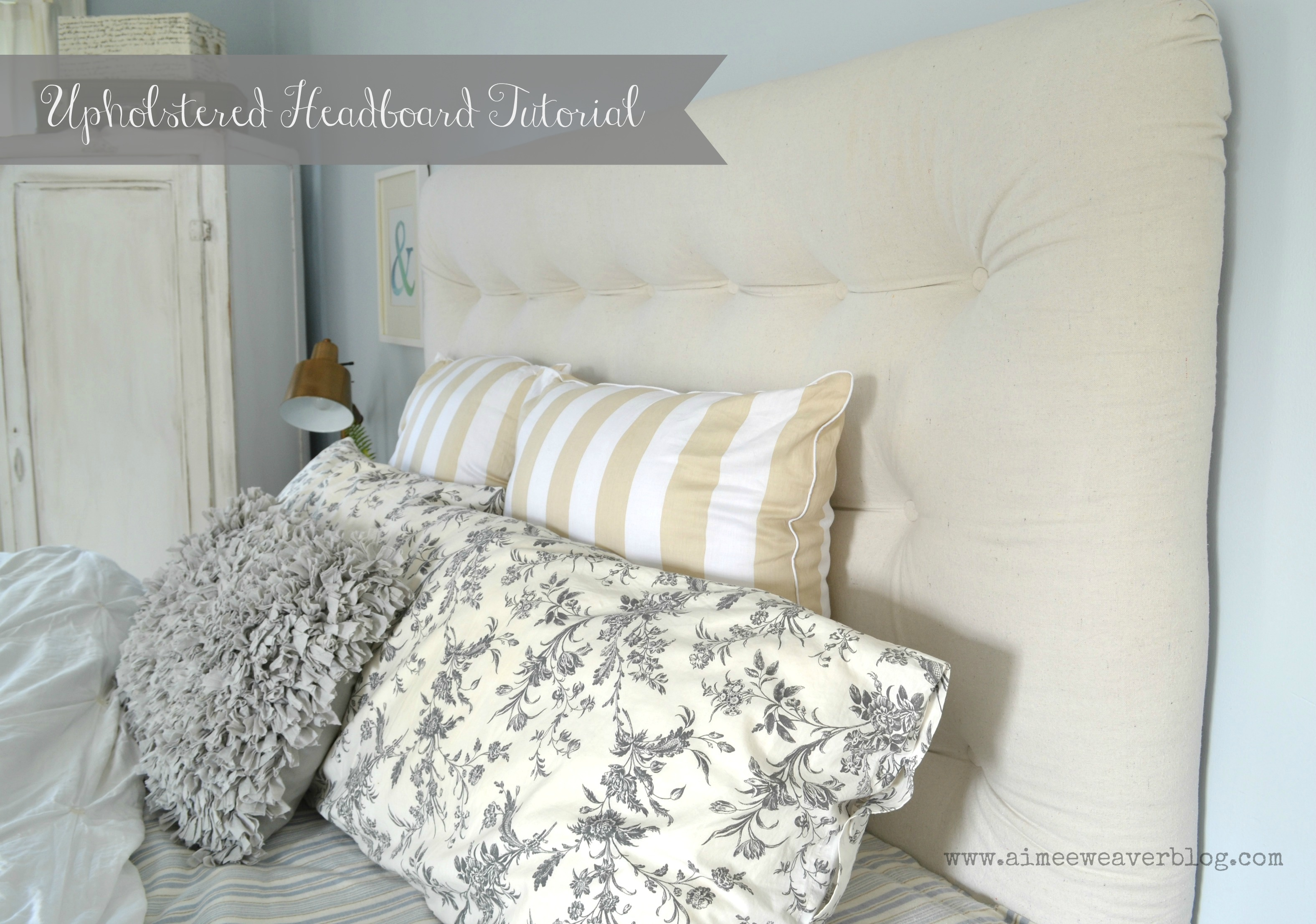 youtube watch an upholstered make headboard how to