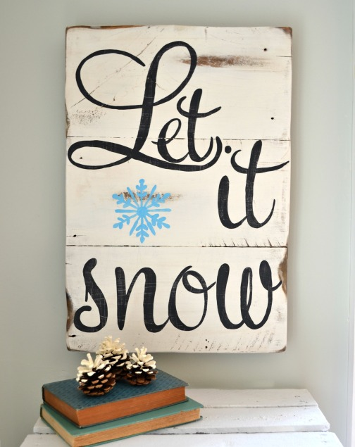 sign let it snow2