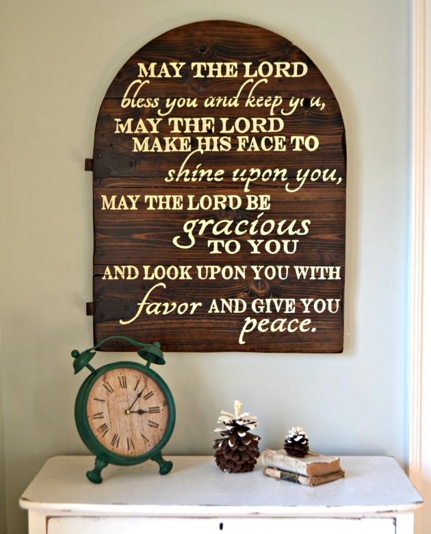 sign may the lord bless you1