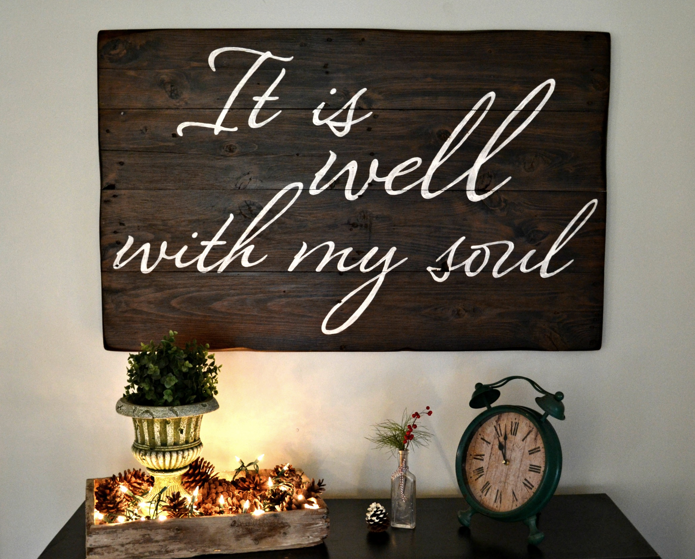It Is Well With My Soul Picture Quotes: Aimee Weaver Designs, LLC