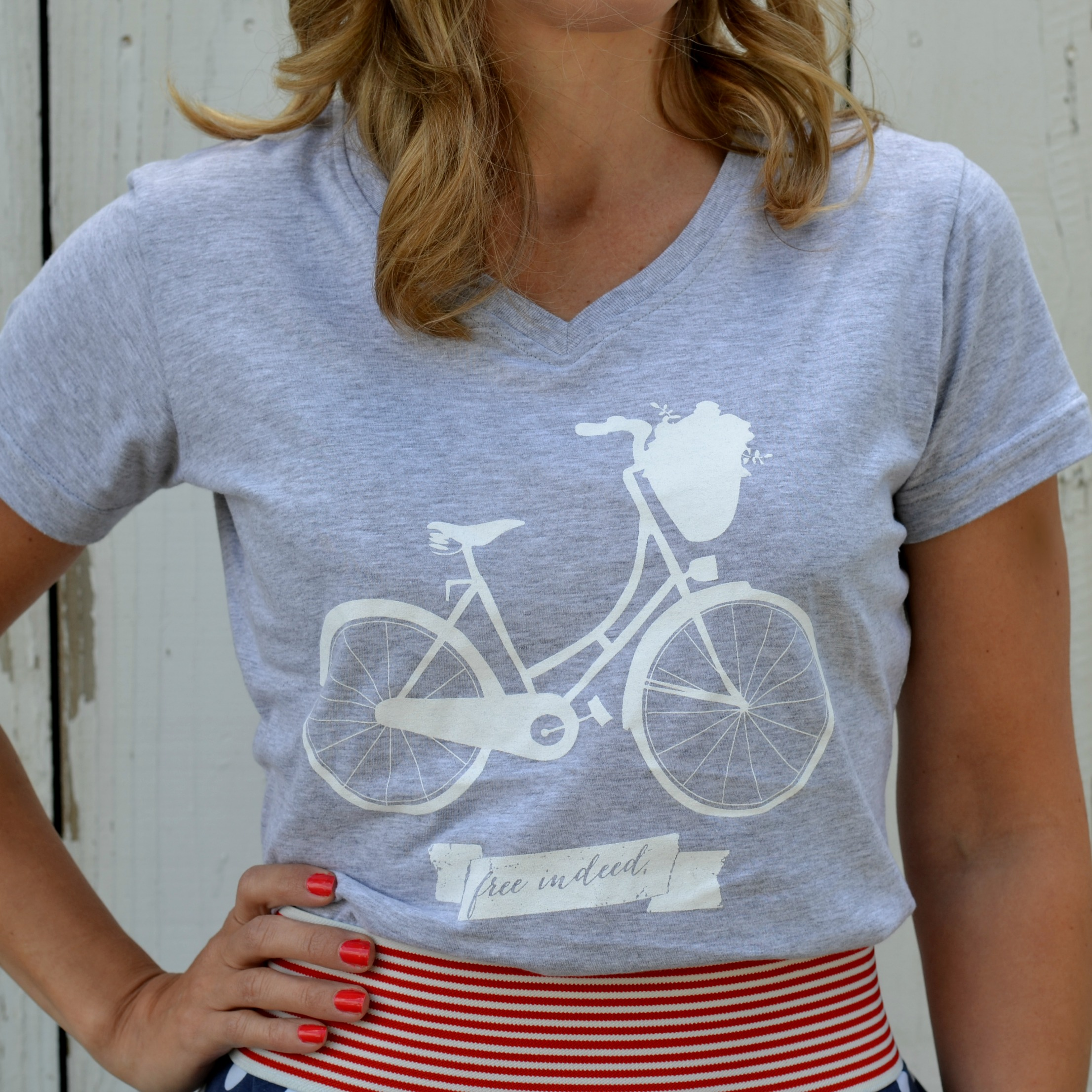 Design t shirt for fundraiser - Bike Pic3 Square