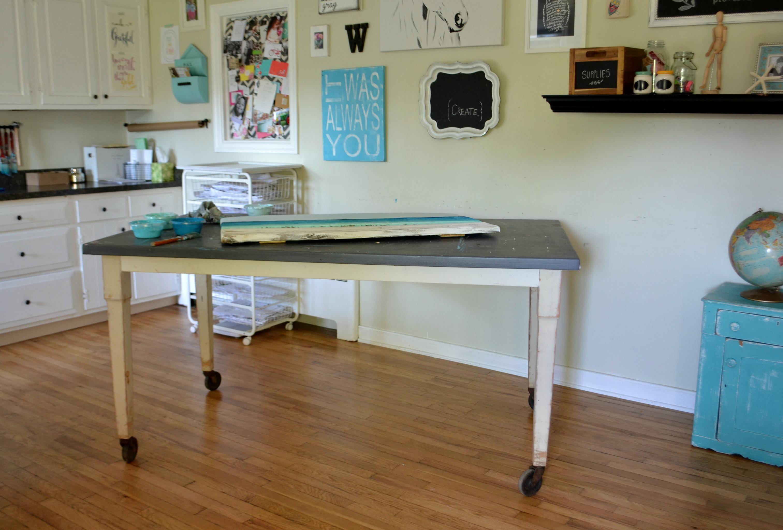 New Work Table Aimee Weaver Designs Llc