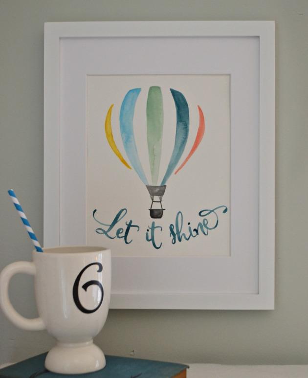 Let it Shine print by Aimee Weaver 2