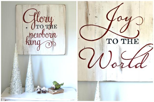 Aimee Weaver Designs Christmas Signs