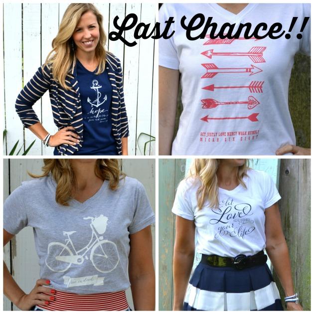 tshirt last chance Collage