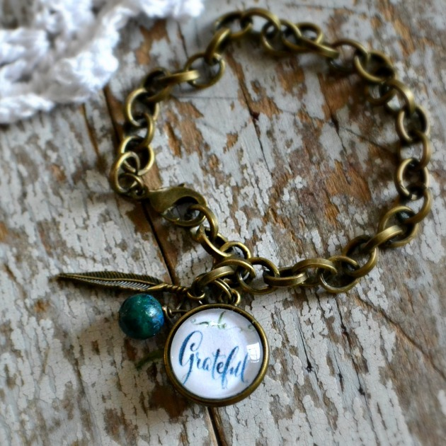 bracelet be grateful