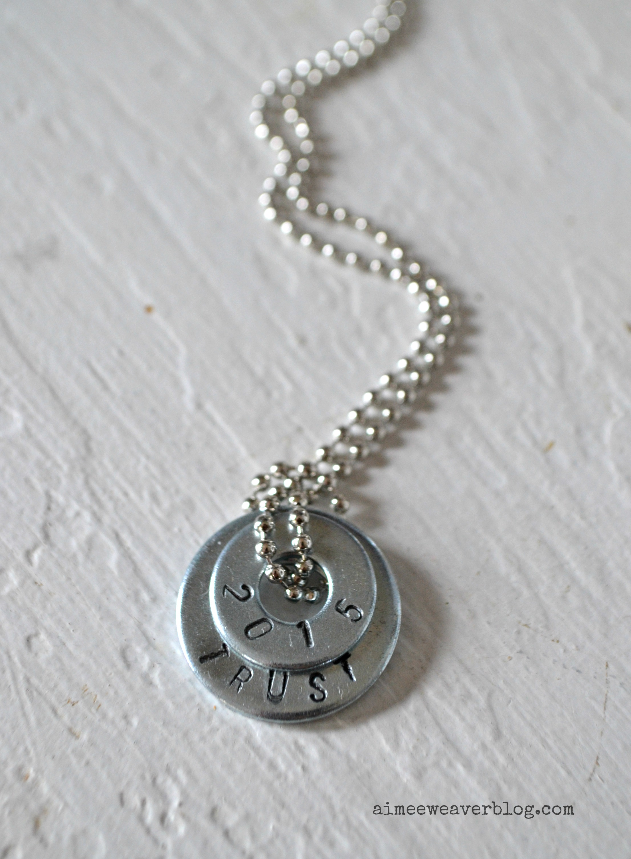 sted washer necklace diy aimee weaver designs llc