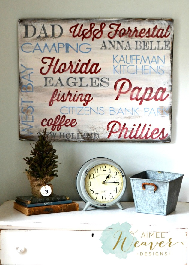 Memories...wood sign by Aimee Weaver Designs