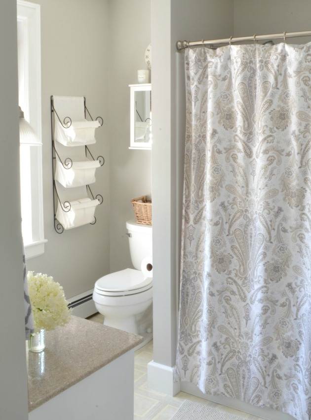 gray bathroom paint color