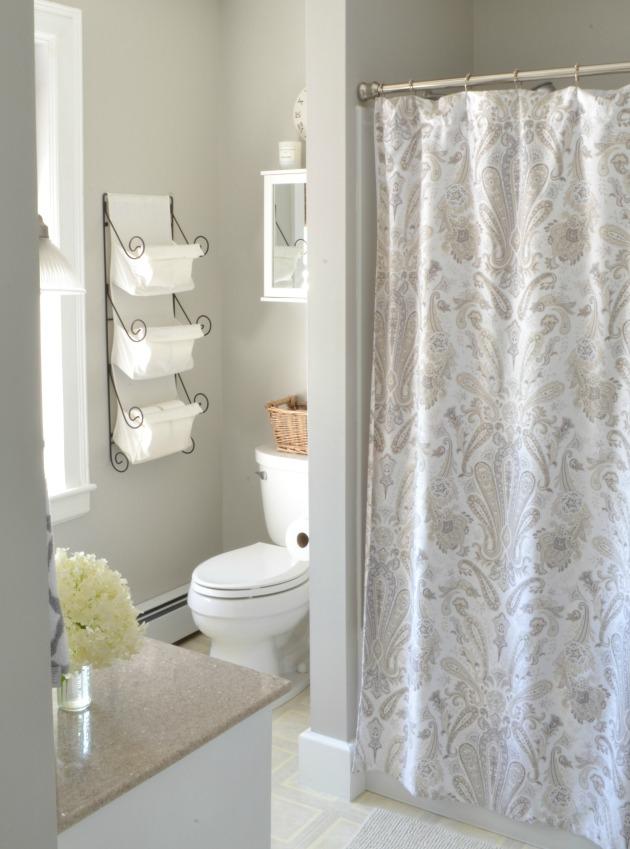 gray bathroom paint color