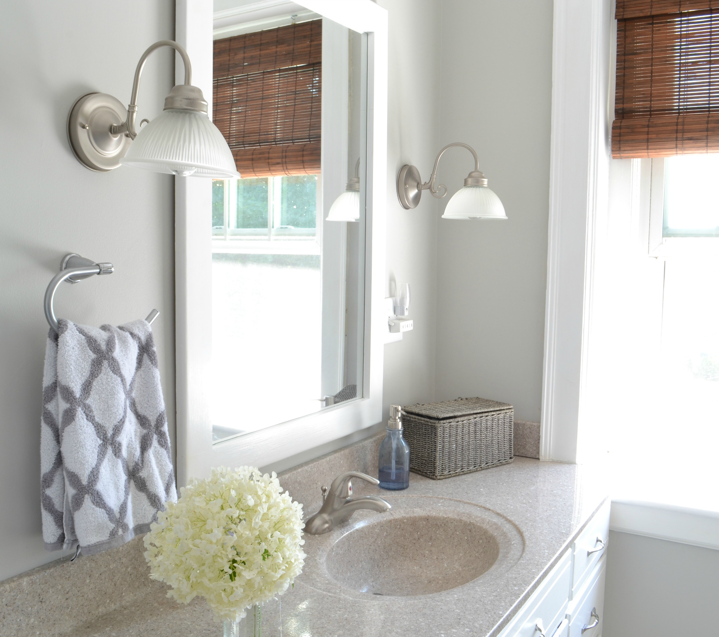 Bathroom Re-do {sharing a fav neutral paint color} - Aimee Weaver ...