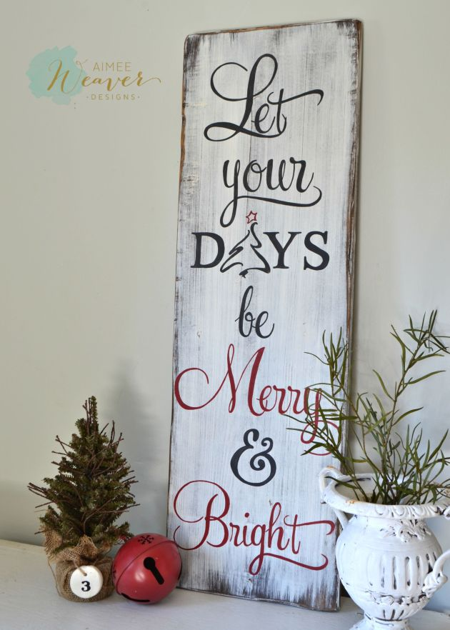 Christmas signs are here aimee weaver designs llc