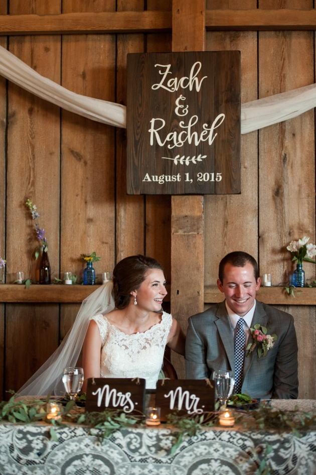 Wedding signs by Aimee Weaver Designs