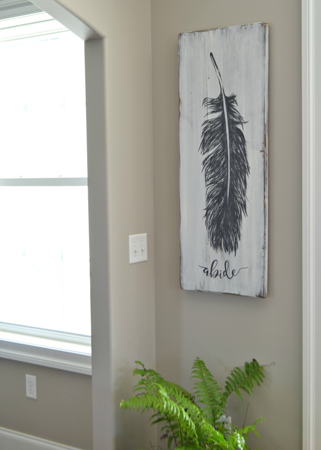 feather painting by Aimee Weaver Designs